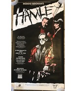 "Ingmar Bergman's Hamle Poster 37""x21"" - $186.07"