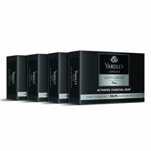 Yardley London Caballero Clásico Activado Carbón Jabón, (100g X 4) - $22.46