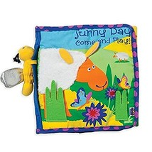 Manhattan Toy Soft Activity Book with Tethered Toy, Sunny Day (Sunny Day) - $20.36