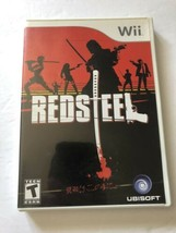 Red Steel Nintendo Wii COMPLETE (Ubisoft, 2006) TESTED - $5.75
