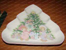 Christmas Tree Candy Dish (Precious Moments by Enesco, 251151) 1993 - $22.28