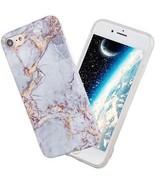 Iphone 8 Case ,iphone7 Case Full Protective Anti-Scratch ?Rose Gold Whi... - $19.85