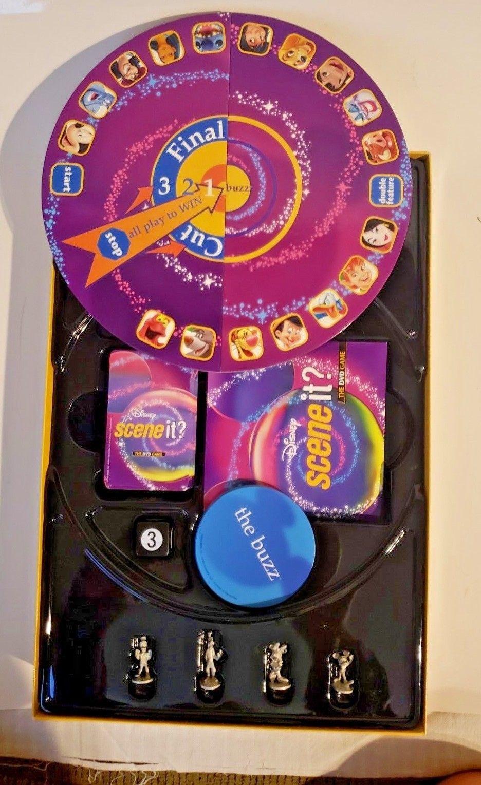 Disney Scene It! The DVD Game 1st Edition 2004 Mattel Pixar Characters!!!! image 4