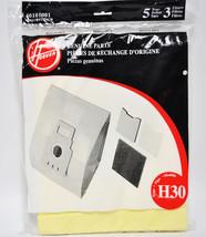 Hoover Typ H30 5 Stück Staubsaugerbeutel 3 Filter 40101001 - $16.03