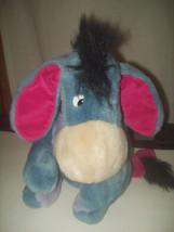 "Eeyore Soft Plush Donkey Disney 12"" Stuffed Animal Toy Winnie the Pooh C... - $14.80"