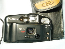 Canon Sure Shot AF-7 Point And Shoot 35mm Compact Camera Cased  -NICE - $25.00
