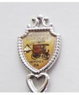 Collector Souvenir Spoon USA Pennsylvania Hershey's Chocolate Truck Kisses - $4.99