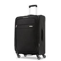 Samsonite Advena Expandable Softside Checked Luggage with Spinner Wheels, 25 Inc - $124.59