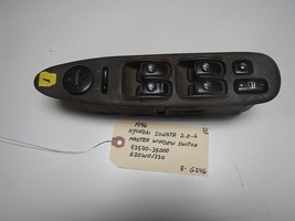 1996 HYUNDAI SONATA MASTER WINDOW  SWITCH # 93570-35000/620W01330   (BOX... - $44.50