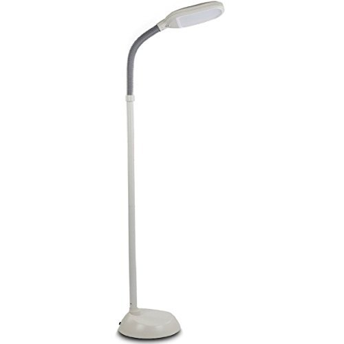 Baltoro Led Floor Lamp Soft White Reading Light Built