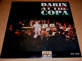 Bobby Darin Darin At The Copa Record Album Vinyl Vintage Atco Label - $45.99