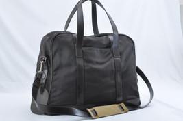 GUCCI Nylon Diamante 2Way Boston Bag Brown Auth 7409 - $180.00