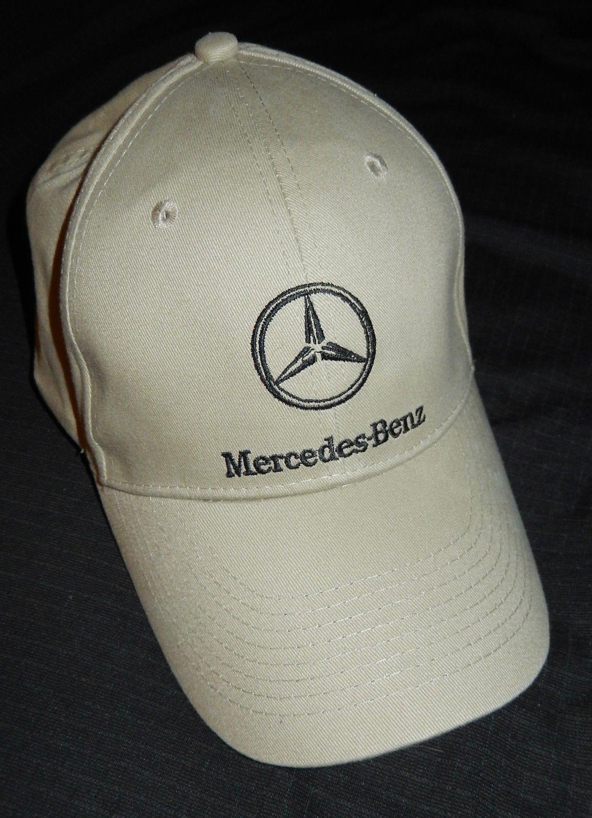 NEW Mercedes Benz Logo Beige Cap Truckers Hat Mercedes Benz Of Georgetown TX