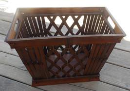Bamboo Magazine Rack / Magazine Stand  / Waste Basket - $129.00