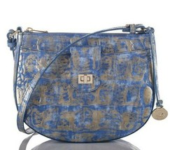 New Brahmin Women Melbourne Vanessa Crossbody Bag Rio Zamora Color - £152.28 GBP