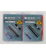 Mag-Lite Solitaire Single AAA Flashlight Model K3A016 (2 Pack) w/Additio... - $15.82