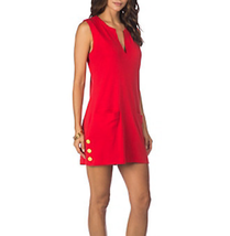 NWT Lauren Ralph Lauren Womens Size Medium Cotton Swimsuit Cover Up Dress - $35.99