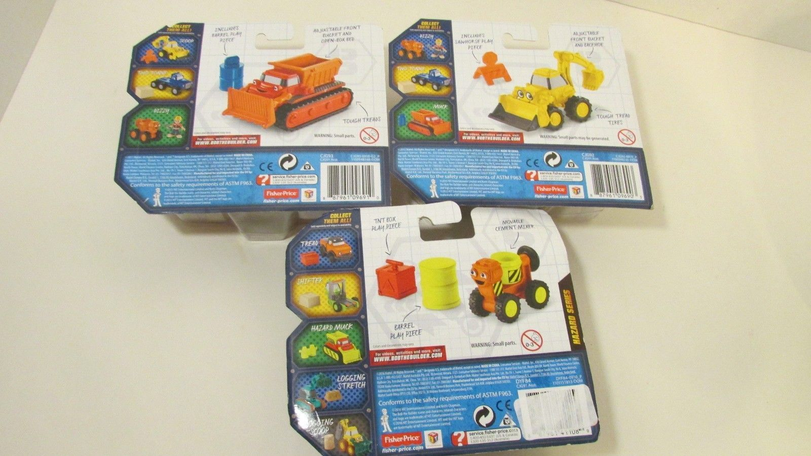 Bob the builder vehicles trucks lot NEW Die and 50 similar items