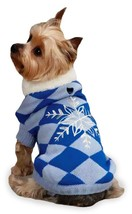 East Side Collections Snowflake Snuggler Pet Sweater XX Small 8 Inches B... - $16.00