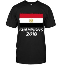 Egypt Champions 2018 Football Jersey Soccer Shirt Egyptian - $17.99+