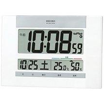 Seiko CLOCK clock wall clock table clock combined digital temperature display hu - $80.27