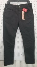Levi Mens Regular Taper Gray Jeans Sz 34x34 New - $34.65