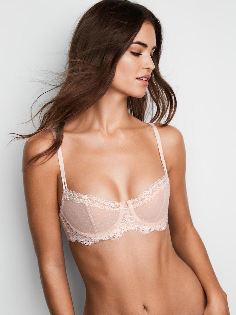 c9c1778c2f 38DD White Nude Dot WICKED Dream Angels UPLIFT PushUp wopad Victorias  Secret Bra