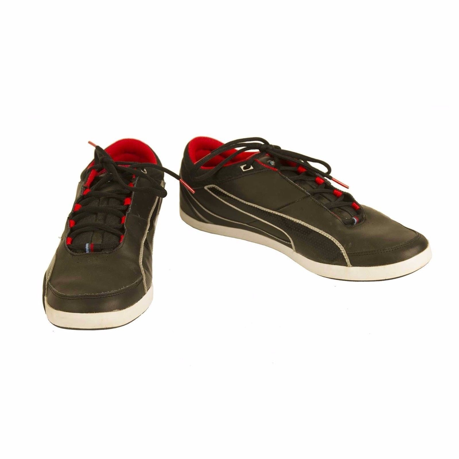 Primary image for Puma BMW M series Black leather Shoes Sneakers Trainers EU 45 US 11,5 UK 10,5
