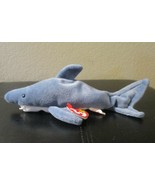Ty Beanie Baby Crunch The Shark 5th Generation PVC Filled  NEW - $8.90