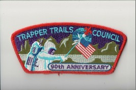 Trapper Trails Council SA-17 CSP 90th Anniversary - $9.90