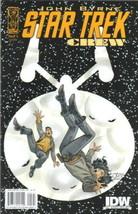 Star Trek: Crew Comic Book #5 Idw 2009 Near Mint New Unread - $3.99