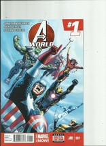 Avengers  #1-#5-#35-#36-#39  5 total by J Hickman  Marvel Now Comics - $8.90