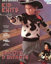 Patons Kid Knits PATTERN/INSTRUCTIONS Child sz. 1-12 48 pages. - $6.27