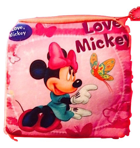 Primary image for Adorable Minnie Mouse Soft Children's Coin Purse— More Fun Character Coin Purses