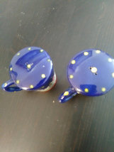 Chicago Dark Blue Porcelain Salt & Pepper Pepper Shakers image 3