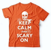 Halloween Party Costume T-Shirt Funny Halloween Clubwear Orange Tee Shirt - $22.99+