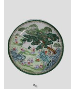 """Chinese Porcelain Charger Plate  ~ 100  Boys ~ 16.5""""  - $158.39"""