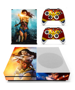Wonder Woman DC Comic Xbox One S Slim Console Skin Vinyl Decal Stickers ... - $12.50