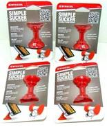 Lot of 4 Striker Simple Sucker Flexible Phone Mount Intelligent Brand Ne... - $7.81