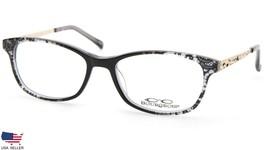 NEW BOURGEOIS CH6908B C51F BLACK /CLEAR EYEGLASSES GLASSES FRAME 51-16-1... - $48.99