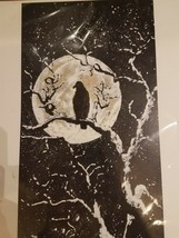 Original Drawing Salute to the Raven - One of a Kind - $49.49