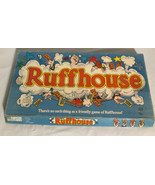 COMPLETE 1980 VTG PARKER BROTHERS RUFFHOUSE BOARD GAME. Parts Unopened. ... - $14.49