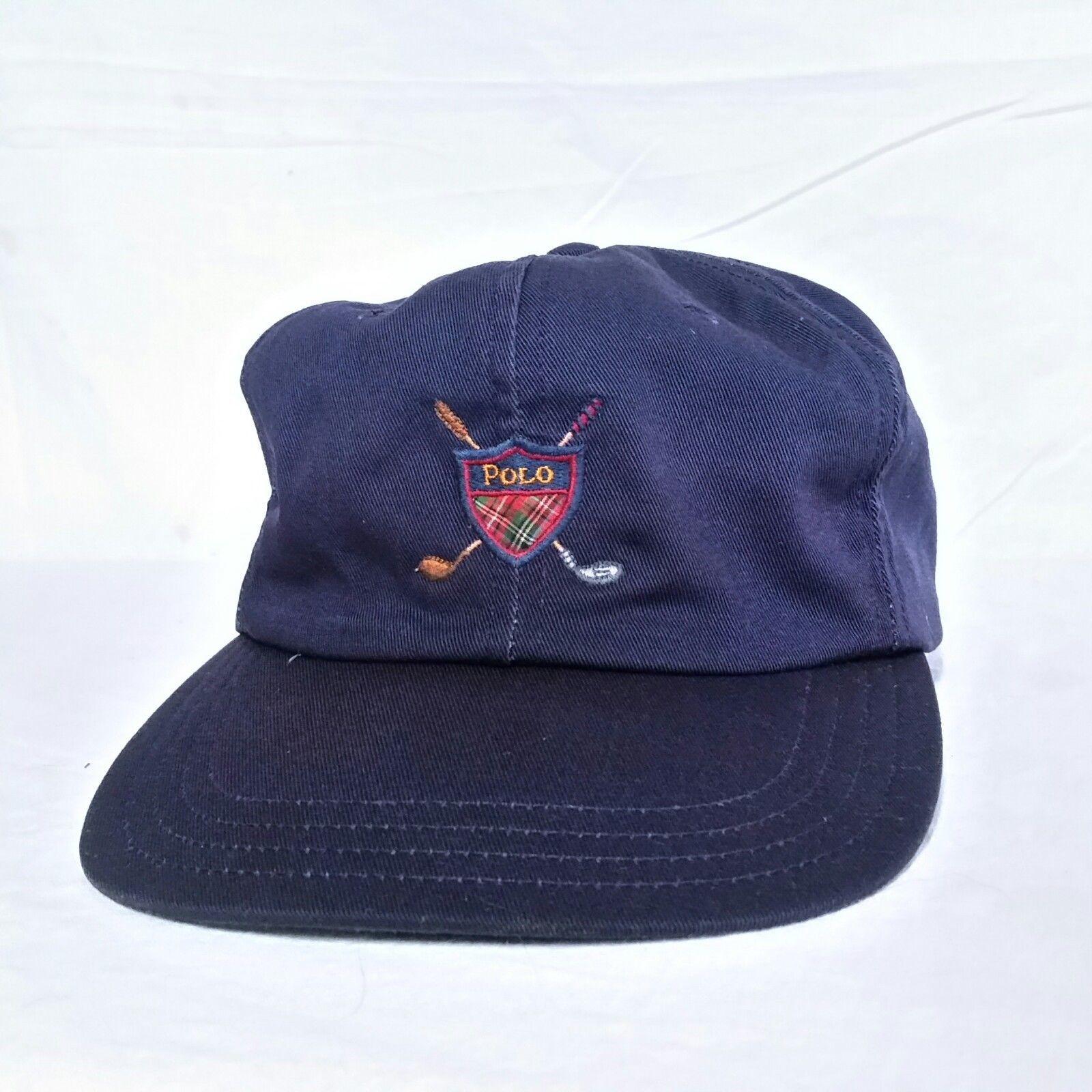 VTG Polo Ralph Lauren Strapback Hat 90s Golf and 36 similar items. S l1600 f523049119e8