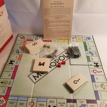Vintage Monopoly Book Edition Bookshelf Game W/Sleeve Money Cards Are Se... - $50.00