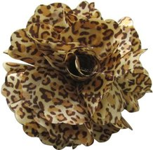 Fluerettes Brown Cheetah Print Flower - 1 Pack 1 pcs sku# 1033693MA - $23.18