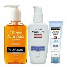 Neutrogena Acne Prone Skin Care Kit (Combo Of 3) - $45.35
