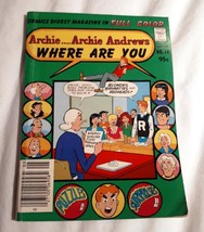 ARCHIE ANDREWS WHERE ARE YOU COMIC DIGEST #14 - MAY 1980 ( BLONDES, BRUN... - $9.95