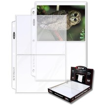 1 Case of (1000) BCW 2-Pocket Photo Pages Size - 5 7/16 x 7 1/8 - $142.49