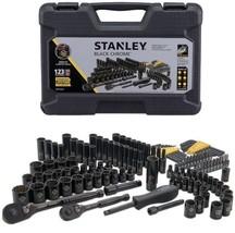 Stanley STMT72254W 123pc Black Chrome Universal Mechanics Tool Set - $76.69