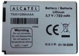 OEM Battery T5001298AAAA For Alcatel E227 E227A V270 V270A E206 E221 E22... - $4.40